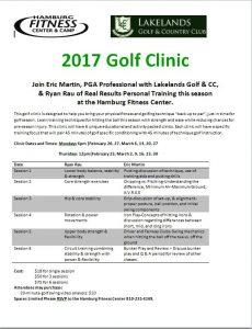 golf clinic