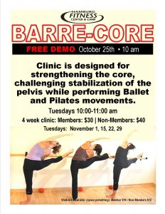 barre flyer