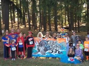 wolf lake 5k event
