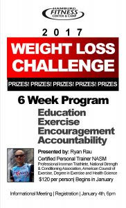 weight loss challenge flyer