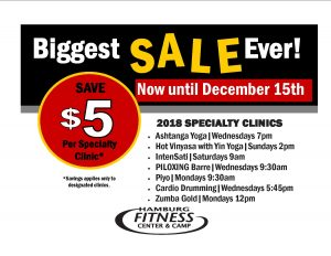 Specialty clinic sale 2017