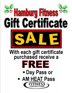 gift cert. incentive