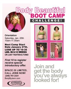 body beautiful boot camp challenge
